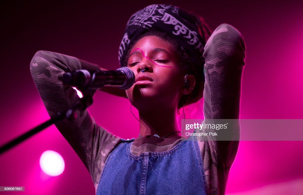 Willow Smith performs at The Fonda Theatre on August 20, 2017 in Los Angeles, California.