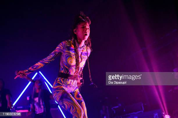Willow Smith performs onstage during The Willow Erys Tour at Terminal 5 on November 26 2019 in New York City