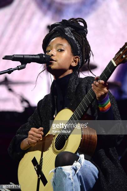 Willow Smith performs onstage during TIDAL X Brooklyn at Barclays Center of Brooklyn on October 17 2017 in New York City