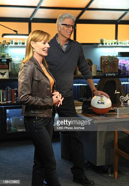 Willows in the Wind Cather Willows and DB Russell in Helgenberger's last episode on CSI CRIME SCENE INVESTIGATION Wednesday Jan 25 on the CBS...
