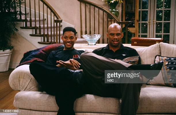AIR 'Will's Misery' Episode 6 Pictured Will Smith as William 'Will' Smith Kareem AbdulJabbar as himself Photo by Paul Drinkwater/NBCU Photo Bank