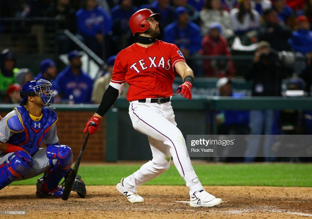 Chicago Cubs v Texas Rangers : News Photo