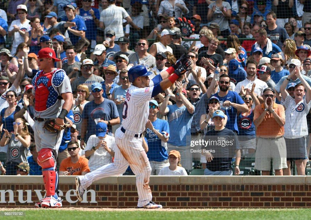 Detroit Tigers v Chicago Cubs : News Photo