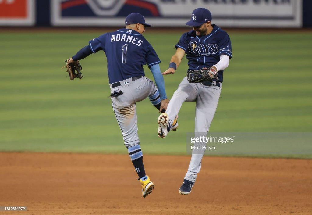 Tampa Bay Rays v Miami Marlins : News Photo