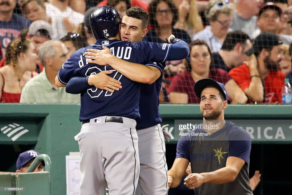Tampa Bay Rays s v Boston Red Sox : News Photo
