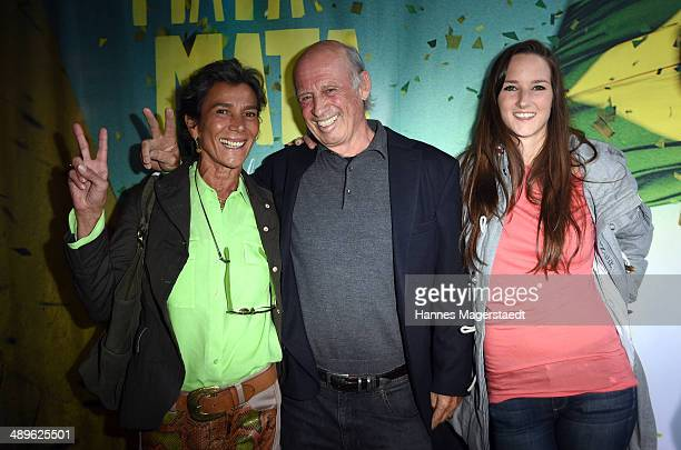 Willy Bogner and his wife Sonia Bogner and daughter Florinda Bogner attend the 'Mata Mata' Premiere at ARRI Kino on May 11, 2014 in Munich, Germany.