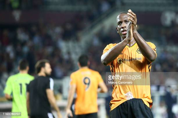 Willy Boly of Wolverhampton Wanderers Fc during the UEFA Europa League playoff first leg football match between Torino Fc and Wolverhampton Wanderers...