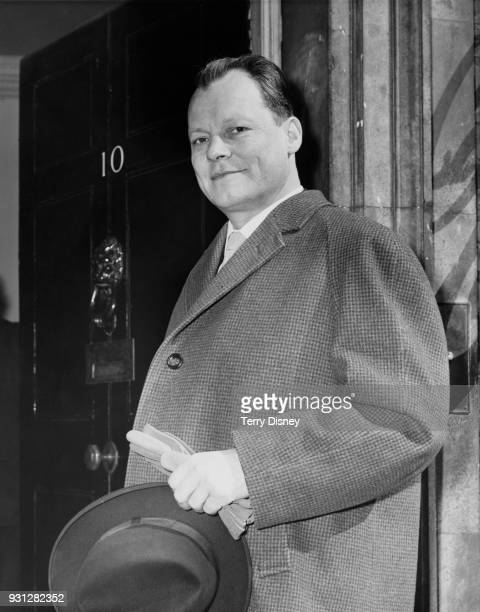 Willy Brandt the Governing Mayor of West Berlin arrives at 10 Downing Street in London during a fourday official visit to England to visit British...