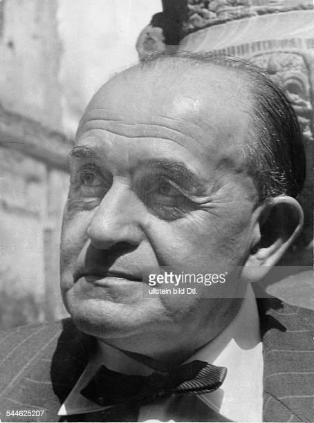 """Willy Haas - Literaturwissenschaftler, Publizist, D - Begründer der Wochenzeitung """"Die Literarische Welt"""" - 1950er Jahre"""