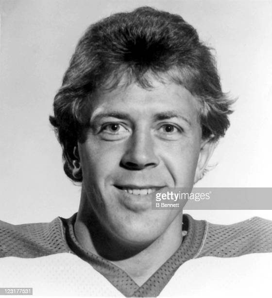 Willy Lindstrom of the Winnipeg Jets poses for a portrait in September 1978 in Winnipeg Manitoba Canada