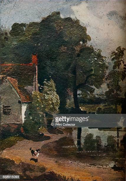 'Willy Lott?s House', c1811. Painting housed at the Victoria & Albert Museum, London. From The Connoisseur Volume LXXVII. [The Connoisseur Ltd,...