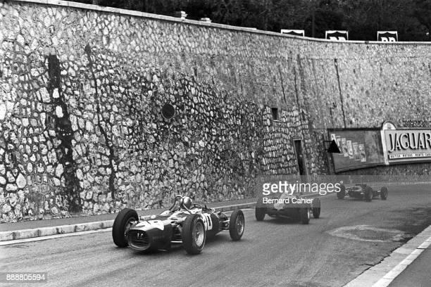Willy Mairesse Jim Clark Ferrari 156 Porsche 718 LotusClimax 25 Grand Prix of Monaco Circuit de Monaco 03 June 1962