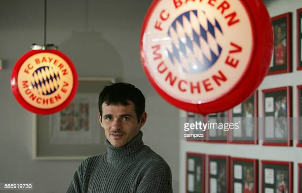 Willy Sagnol im Interview FC Bayern Mnchen Fussball Bundesliga