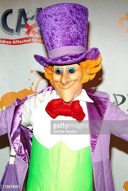 Willy Wonka during Dream Halloween Fundraiser to Benefit the Children Affected by AIDS Foundation at Hammerstein Ballroom in New York City New York...