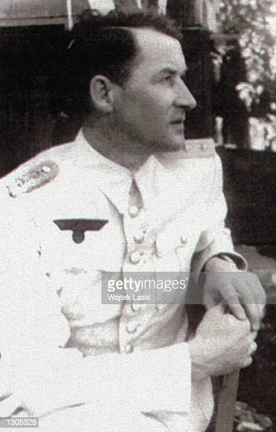 Wilm Hosenfeld a German officer is seen in his military uniform circa 1940 Pianist Wladislaw Szpilman a Polish jew escaped as a young man from the...