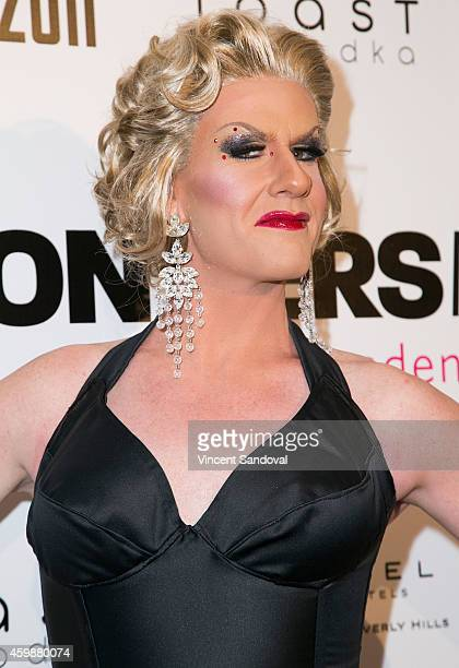 Wilma attends Frontiers Media launches #BroadenYourHorizon supporting 7 LGBT friendly nonprofits at Riviera 31 on December 2 2014 in Beverly Hills...