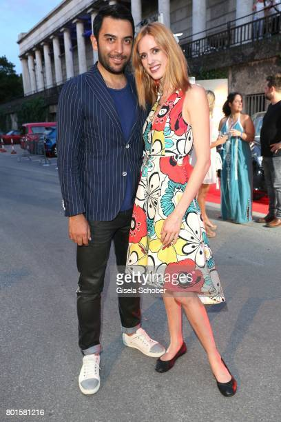 Wilma Elles and her husband Kerem Goegus during the Movie meets Media Party during the Munich Film Festival on June 26 2017 in Munich Germany