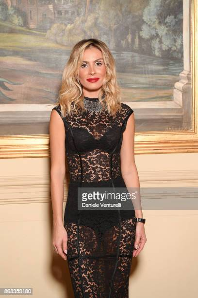 Wilma Helena Faissol attends Telethon Gala during the 12th Rome Film Fest at Villa Miani on October 30 2017 in Rome Italy
