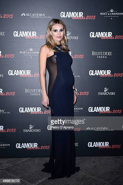Wilma Helena Faissol attends the Glamour Awards 2015 on December 3 2015 in Milan Italy
