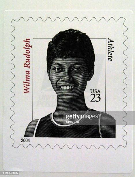Wilma rudolph stock photos and pictures getty images wilma rudolph us postage stamp the 23cent stamp is the fifth in the distinguished american series voltagebd Gallery
