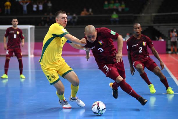 LTU: Lithuania v Venezuela: Group A - FIFA Futsal World Cup 2021