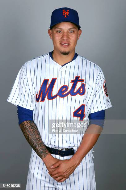 Wilmer Flores of the New York Mets poses during Photo Day on Wednesday February 22 2017 at Tradition Field in Port St Lucie Florida