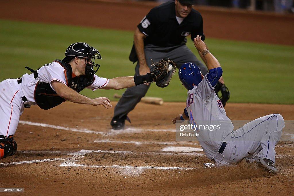 New York Mets v Miami Marlins : Nachrichtenfoto