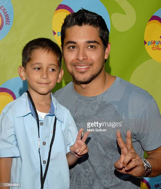 Wilmer Valderrama and brother Christian during Disney Channel Presents the Premiere of Handy Manny at ArcLight Theatre in Hollywood California United...