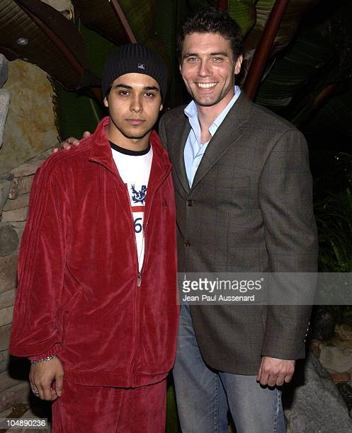 Wilmer Valderrama Anson Mount during The Big Three O A Benefit For The War Victims of Sierra Leone Sponsored by The Reebok Human Rights Foundation at...