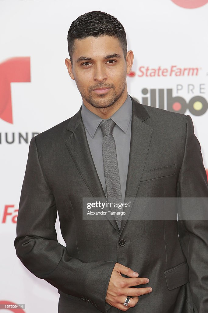 Wilmer Valderrama arrives at Billboard Latin Music Awards 2013 at Bank United Center on April 25, 2013 in Miami, Florida.