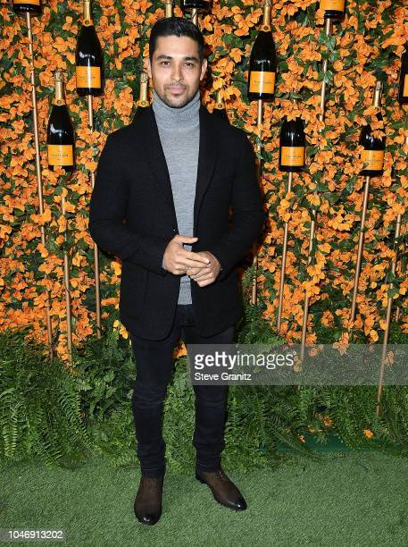 Wilmer Valderrama arrives at the 9th Annual Veuve Clicquot Polo Classic Los Angeles at Will Rogers State Historic Park on October 6 2018 in Pacific...