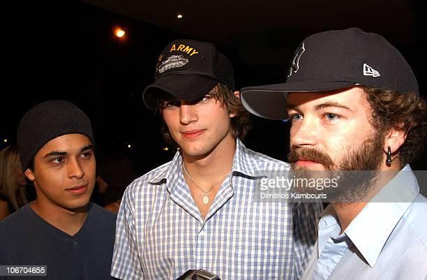 Wilmer Valderrama Ashton Kutcher and Danny Masterson