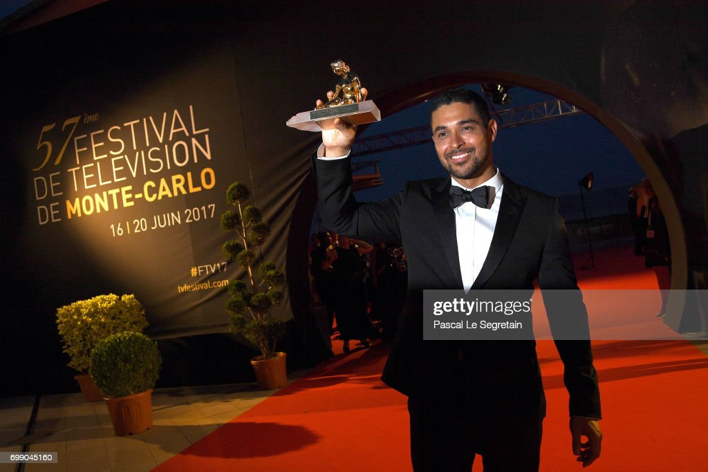 Wilmer Valderrama attends the closing ceremony of the 57th Monte Carlo TV Festival on June 20, 2017 in Monte-Carlo, Monaco.