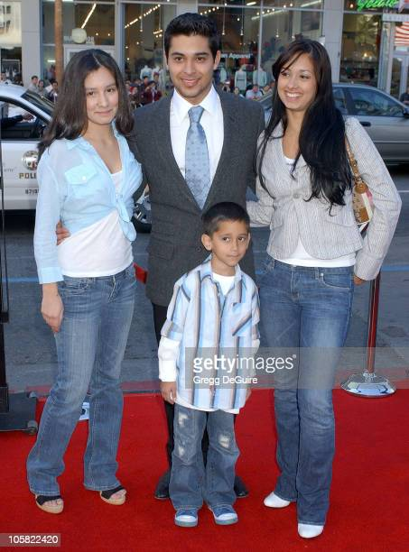 Wilmer Valderrama brother Christian sisters Marilyn and Stephanie