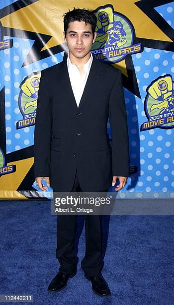Wilmer Valderrama during 2003 MTV Movie Awards Arrivals at The Shrine Auditorium in Los Angeles California United States
