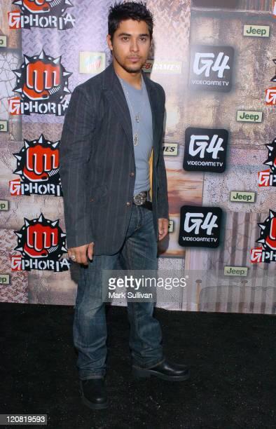 Wilmer Valderrama during 2005 G-Phoria Videogame Awards - Arrivals at Los Angeles Center Studios in Los Angeles, California, United States.