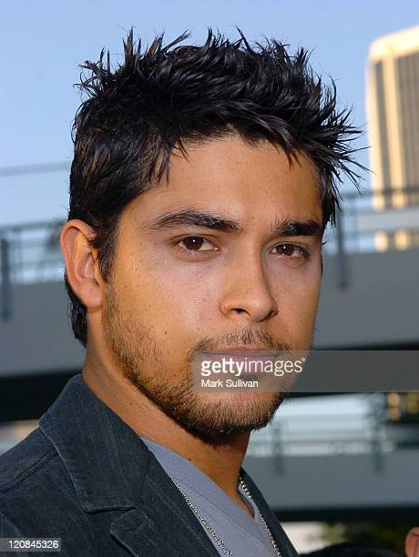 Wilmer Valderrama during 2005 GPhoria Videogame Awards Arrivals at Los Angeles Center Studios in Los Angeles California United States