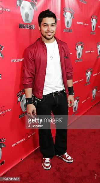 Wilmer Valderrama during Ace of Hearts' First Annual Hollywood Dog Bowl Hosted by Mandy Moore at Lucky Strike Lanes in Hollywood California United...
