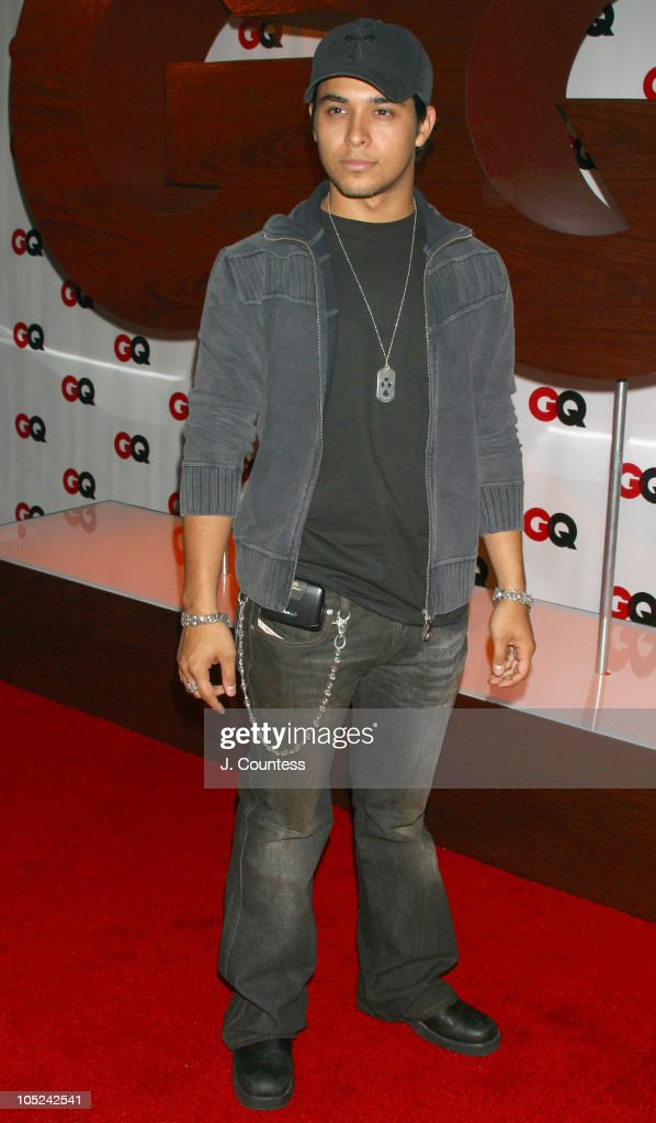 Wilmer Valderrama during GQ Celebrates September Debut Issue Under New Editor and Chief Jim Nelson at Hudson Studios in New York, New York, United States.