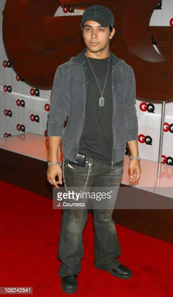Wilmer Valderrama during GQ Celebrates September Debut Issue Under New Editor and Chief Jim Nelson at Hudson Studios in New York New York United...
