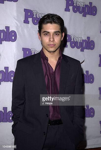 Wilmer Valderrama during The 28th Annual American Music Awards Columbia Records After Party at Las Palmas in Hollywood California United States