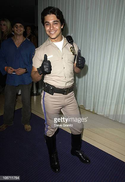 Wilmer Valderrama during the Mondrian Hotel Halloween Party at The Mondrian Hotel in Los Angeles California United States