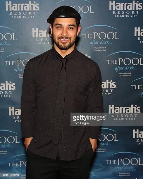 Wilmer Valderrama hosts The Pool After Dark at Harrah's Resort on Saturday May 3 2014 in Atlantic City New Jersey