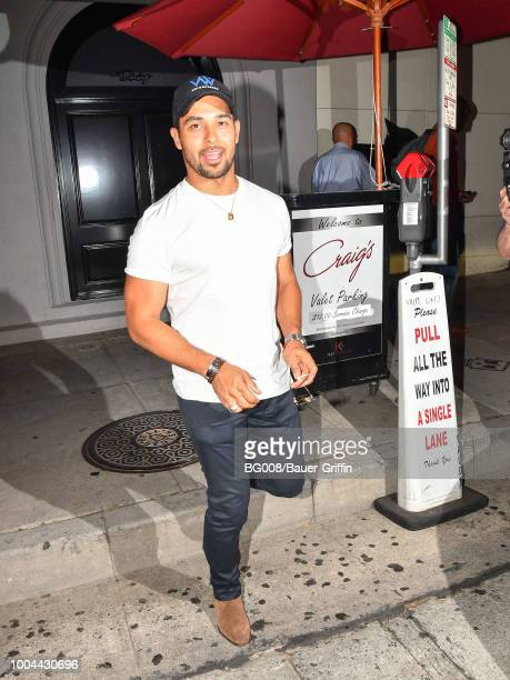 Wilmer Valderrama is seen on July 23 2018 in Los Angeles California