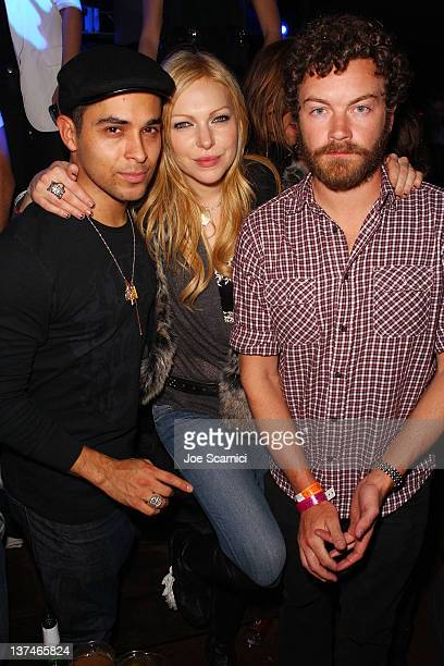 Wilmer Valderrama Laura Prepon and Danny Masterson attend TMobile presents Google Music at TAO a nightlife event at the Sundance Film Festival held...