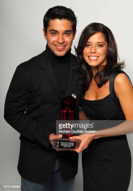 Wilmer Valderrama presenter and Ana Claudia Talancon winner Breakthrough Award for Fast Food Nation