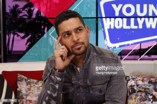 Wilmer Valderrama visits the Young Hollywood Studio on July 11 2018 in Los Angeles California