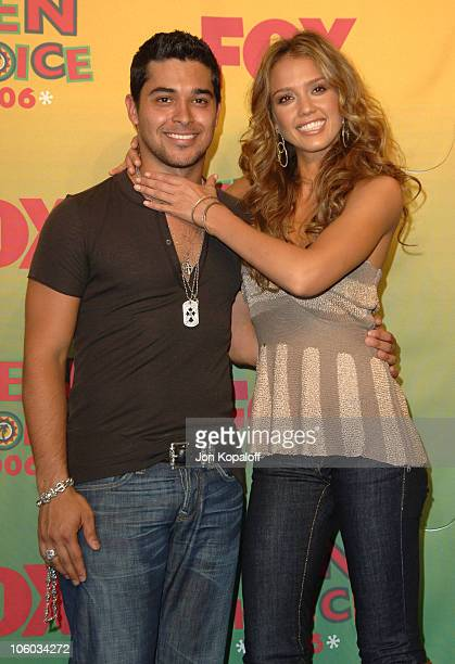 Wilmer Valderrama winner Choice TV Actor Comedy for 'That '70s Show' and Jessica Alba winner Choice Female Hottie