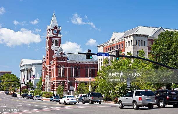 wilmington, north carolina, usa - wilmington north carolina stock photos and pictures