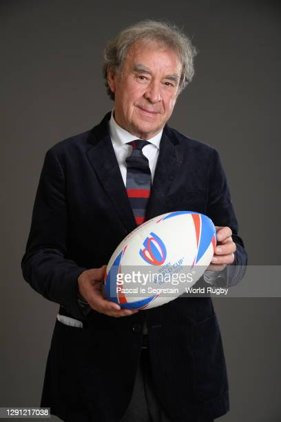 Wilmotte Jean Michel poses for a photo during the Rugby World Cup France 2023 draw at Palais Brongniart on December 14, 2020 in Paris, France